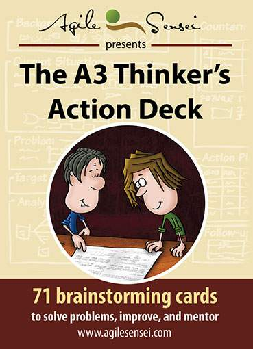 A3 Thinker Action Deck - Front